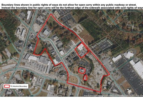 Snellville sets outdoor alcohol boundaries for The Grove