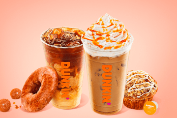 Ready for Fall? Dunkin' is rolling out it's autumn lineup early