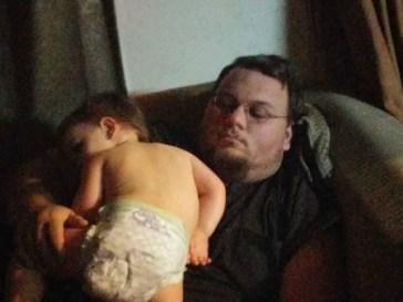 bebek bakıcısı baba