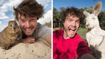hayvan selfieleri