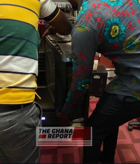 Nana Agradaa's TV equipment seized