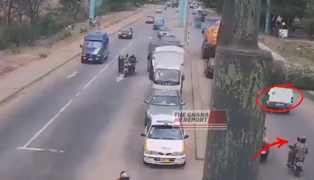 JUST IN: Scenes From Fatal 'Bullion Van' Robbery Captured On CCTV Emerges – WATCH 1