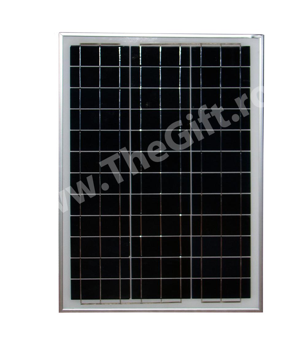 Panou fotovoltaic monocristalin 30W  183 LEI  Magazinul de cadouri TheGiftro  Magazin de cadouri