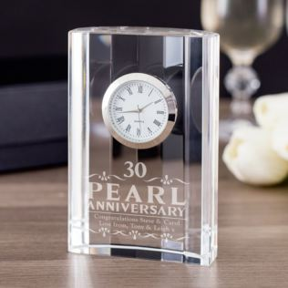 30th pearl anniversary gifts