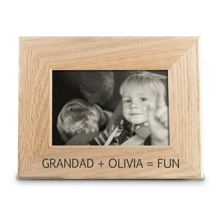 fun with grandad engraved
