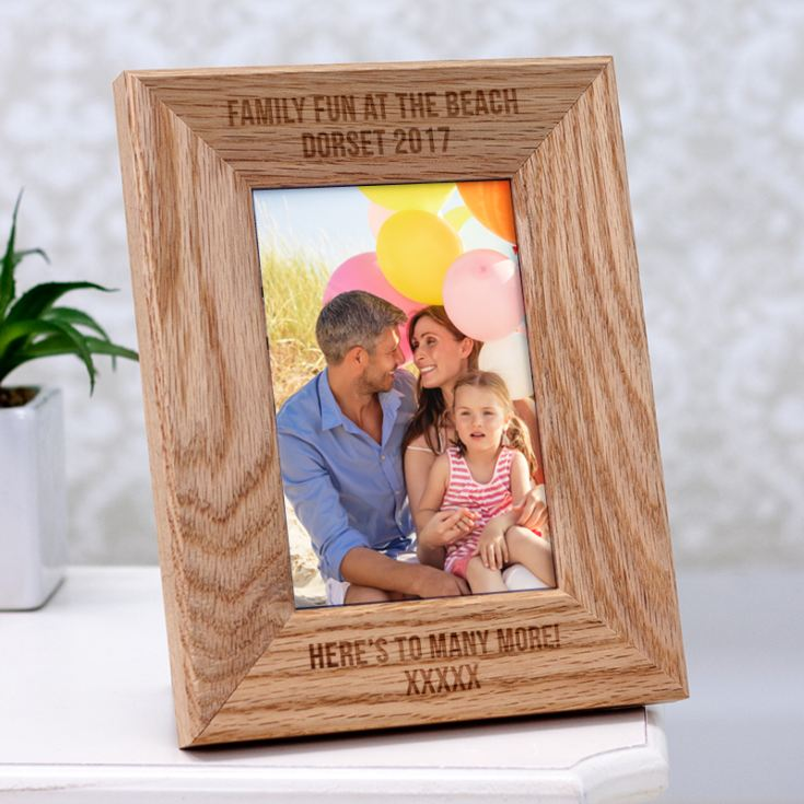 engraved wooden 6 x