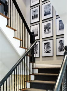 black-and-white-photography-in-stairwell