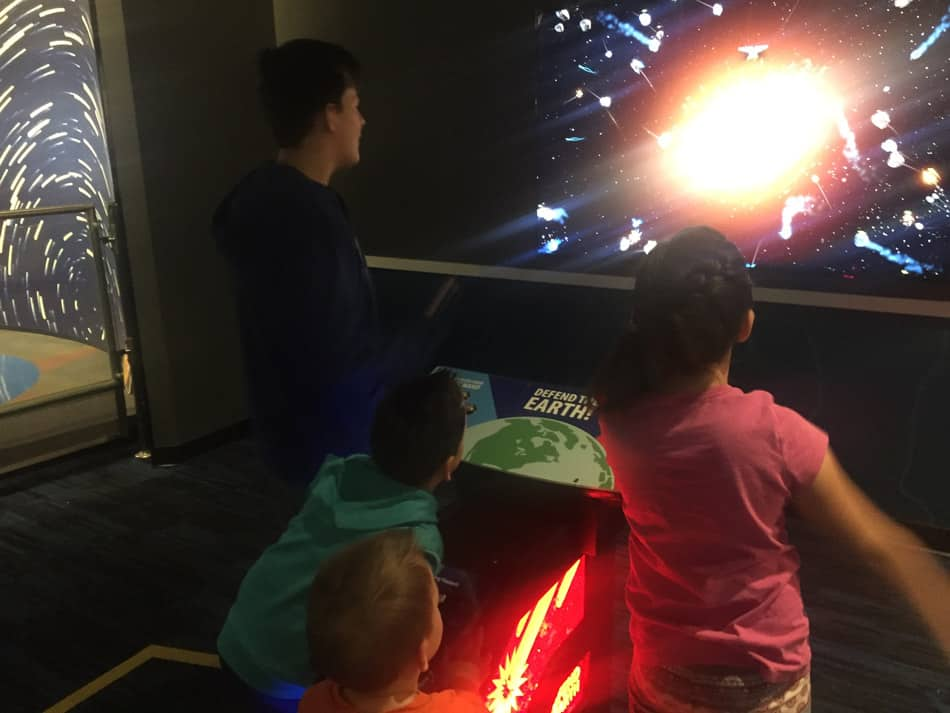 Staycation Utah Clark Planetarium