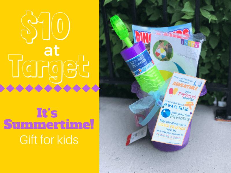 $10 at Target Summertime Gift idea for kids