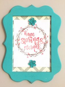 Inspirational Quote Board Gift for mother-in-law