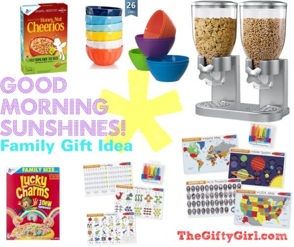 """These creative gift ideas say Good Morning Sunshine and work great as a """"something You Need"""" gift ideas. #usefulgiftideas #somethingyouneed #creativegifting #thoughtfulgifting"""