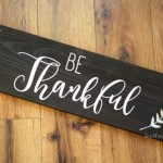 Be thankful sign gift for mother-in-law