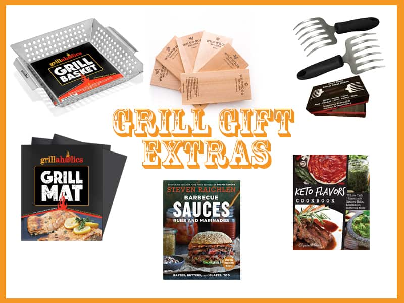 Extra grilling accessories for gifts for men
