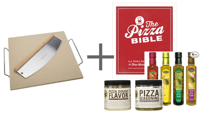 Wedding Gift Pizza Stone Pizza Bible Flavored Olive Oil Pizza Seasonings