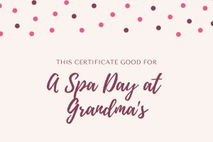 Experience Gift Spa Day