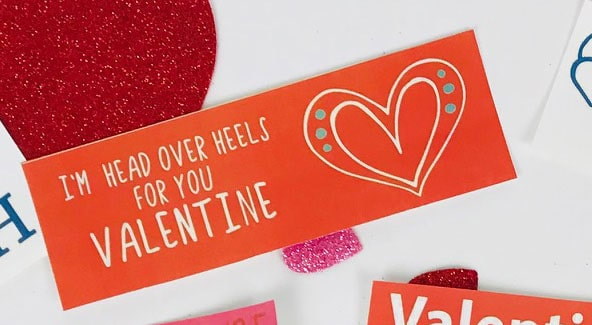 Free Printable Valentine's Day Tag for Kids