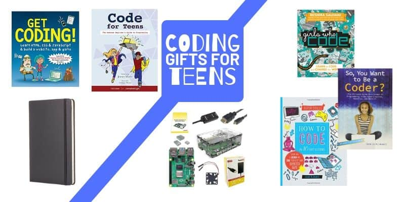 Coding gifts, coding books, Raspberry Pi, How to Code for teens