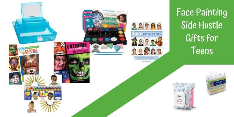 Face Painting side hustle, Face Painting ideas and books