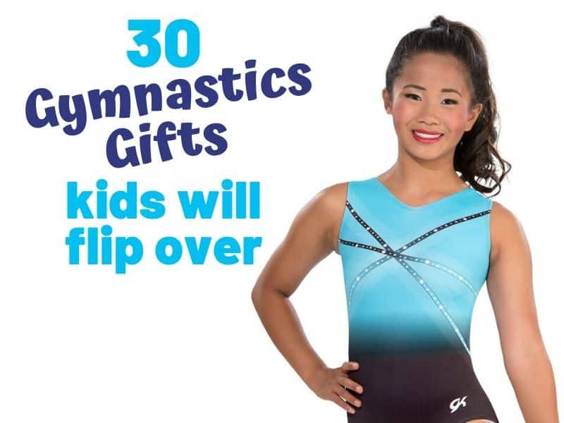 Teen Girl in a leotard gymnastics gifts