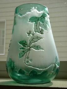 Harrach Kiralfy 1900 Art Nouveau Cameo Glass - Year of Clean Water