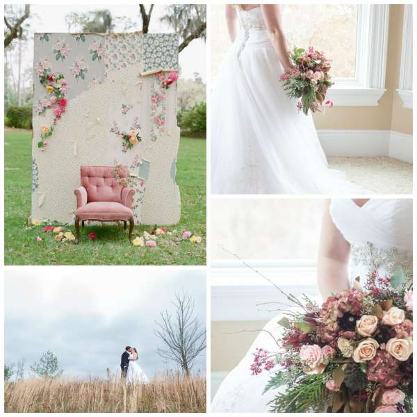 The Gilded Gown - Knoxville TN - Boho Wedding Inspo Collage 4