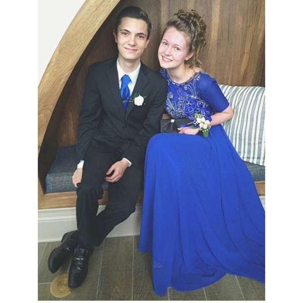 Hannah Gillette 2016 prom