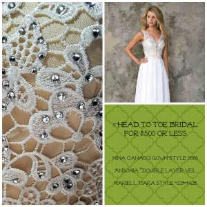 Look 3 Head to Toe Bridal June 16 2016