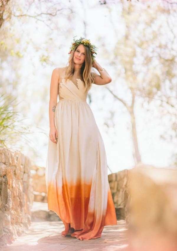 orange-ombre-wedding-dress-2014-diy-southern-california-wedding-boho-bridal-dress-f62548