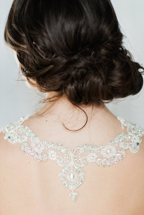BRIDAL STYLE Shoulder Jewelry is So Pretty BridalShoulderJewelry