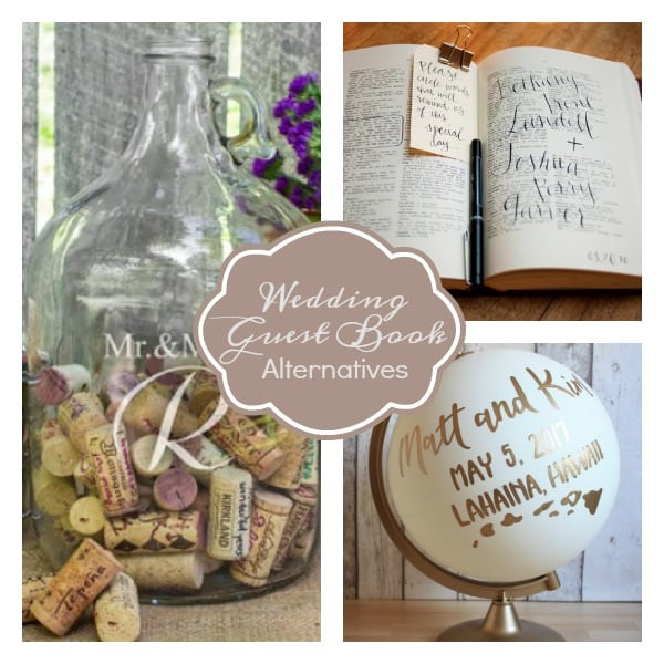 6 Unique Wedding Guest Book Ideas
