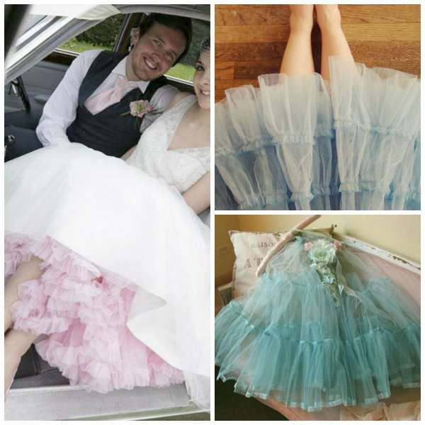 Bridal fyi what the heck is a crinoline hoop skirts for Petticoat under wedding dress