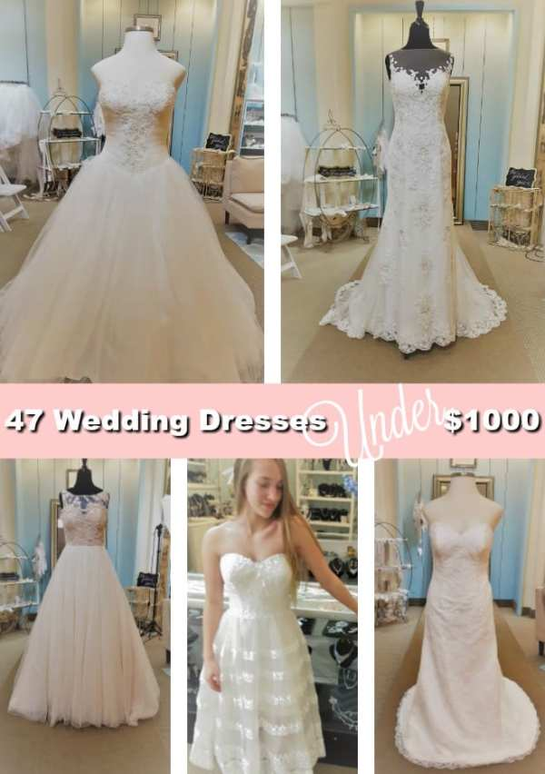 47 Wedding Dresses Under 1000 At The Gilded Gown Budgetbridalgowns The Gilded Gown The Gilded Gown