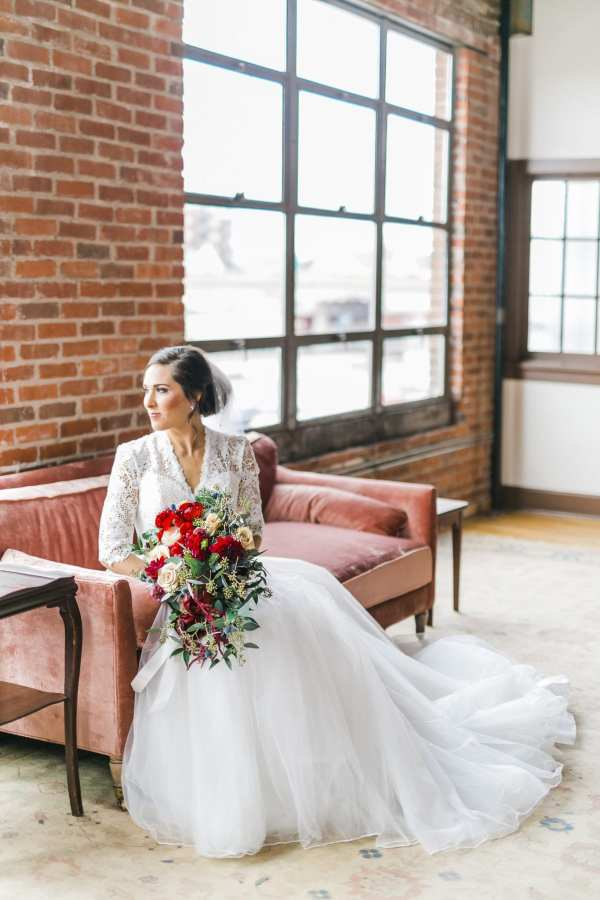 c9e90f040ba5 Melissa Timm Designs made the loveliest florals for the event. The  cascading bouquet Casey carried down the aisle is sublime!!! The wedding ...