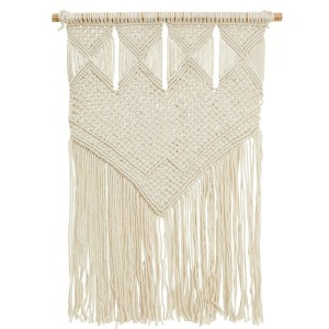 Fringed Tapestry Wall Hanging