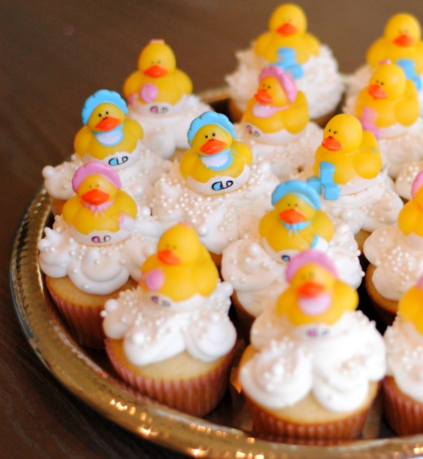 Gender Reveal Cupcakes With Filling The Ginger Life
