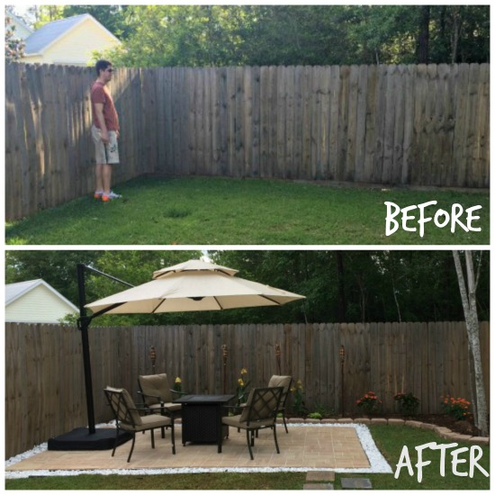 diy paver patio for normal people