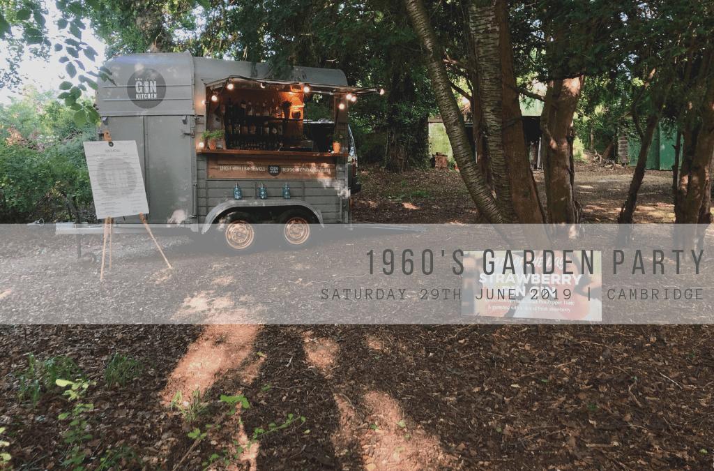 1960's Garden Party
