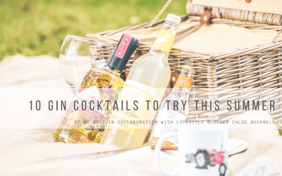 10 Gin Cocktails to try this summer!