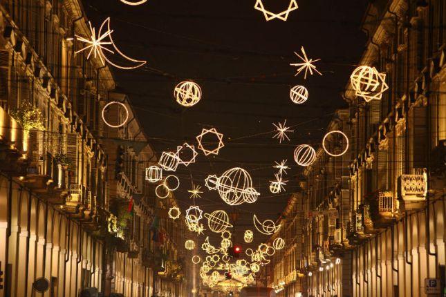 Luci di Natale a Torino - TheGiornale.it