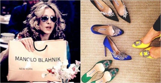 Sex and the City monolo blahnik