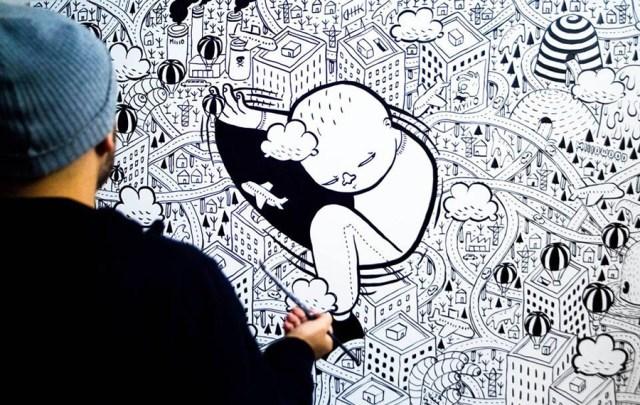Urban Art Millo Torino Barriera di Milano