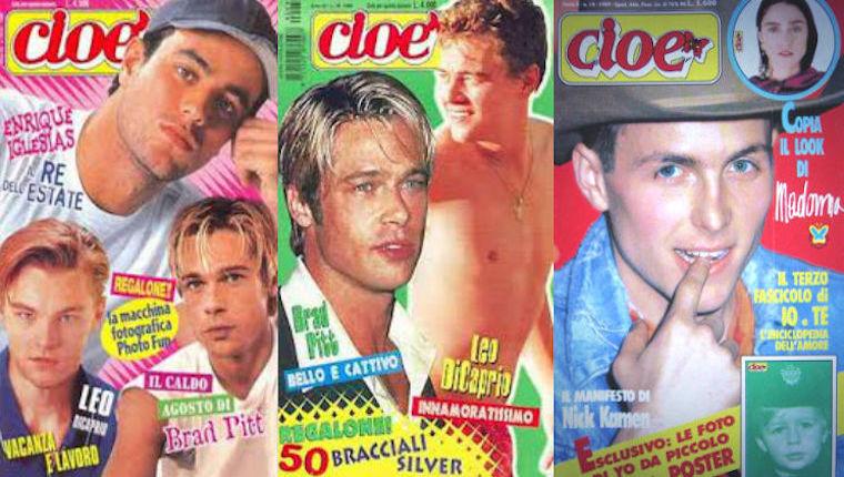 Cioè - riviste anni 90 per ragazzi