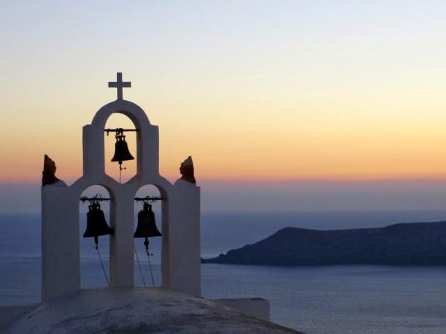 tramonti a Santorini