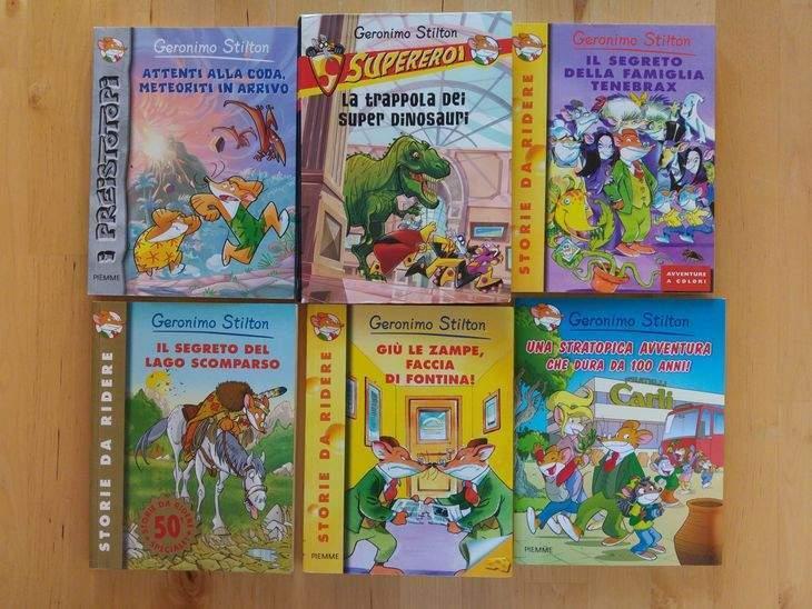 libri di geronimo stilton - libri per bambini