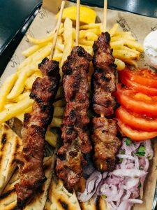 Spiedini tipici della cucina greca
