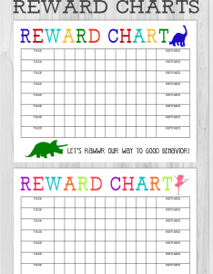 Printable reward chart behavior charts for kids free star also the girl creative rh thegirlcreative