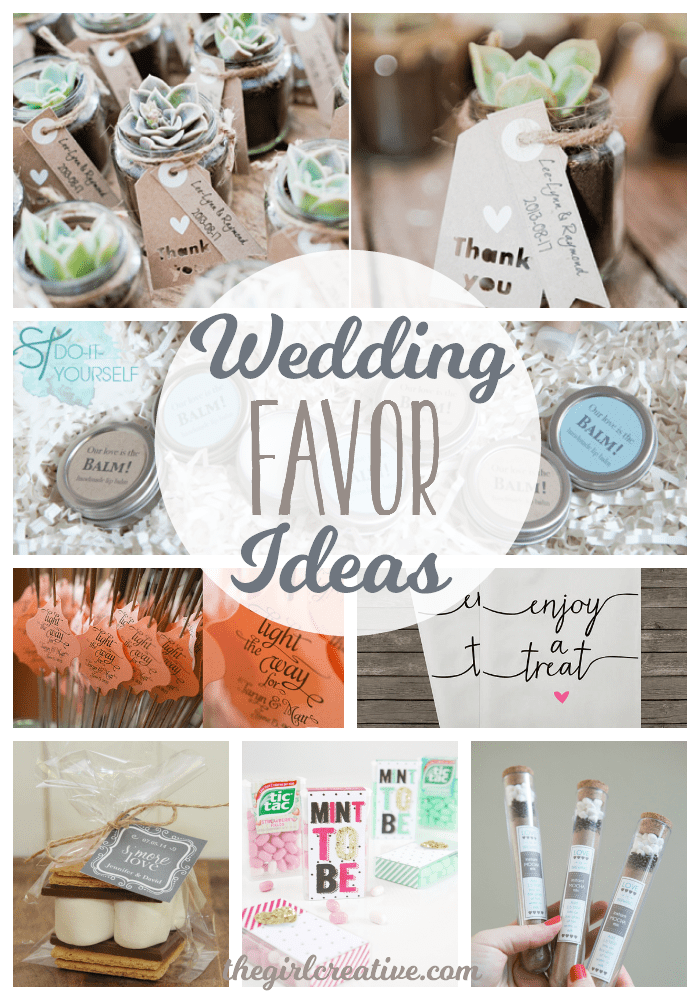 Wedding Favor Ideas For A Diy Or On Budget These Are