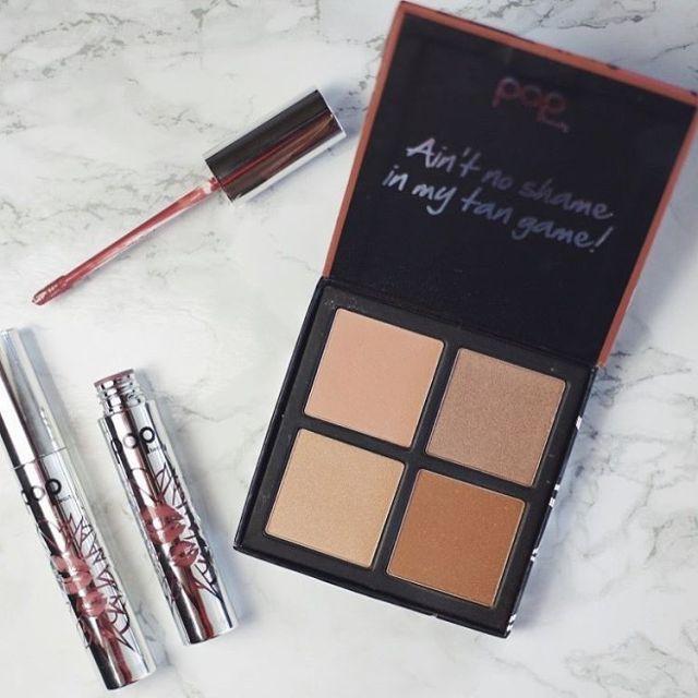 Loving popbeauty bronzers and matte velvet lipsticks! Read more onhellip
