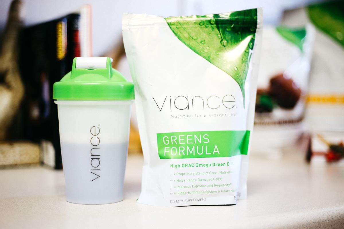 viance, nutrition, greens, formula-8