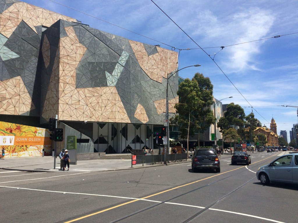 Melbourne waterfront: Federation Square